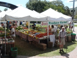 Dunedin Green Market Produce