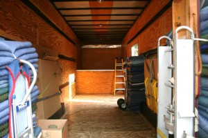 Clean Moving Truck