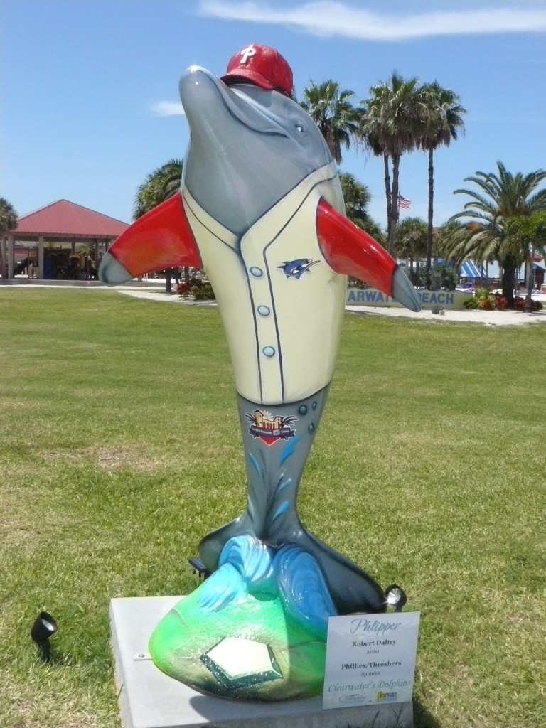 Ball Player Dolphin Clearwater RNC Dolphin Display