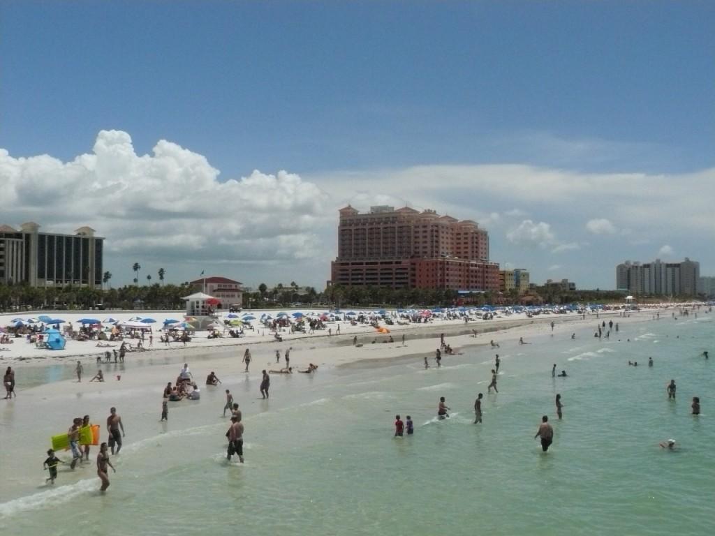 Fun On Clearwater Beach, Florida
