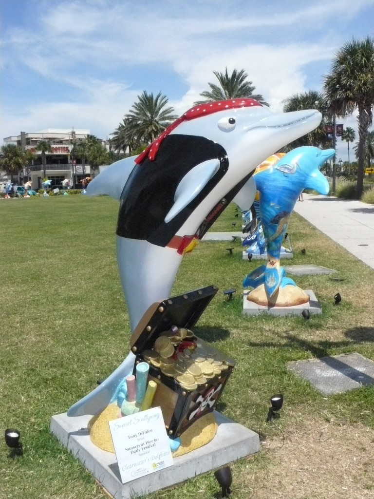Pirate Dolphin Clearwater RNC Dolphin Display