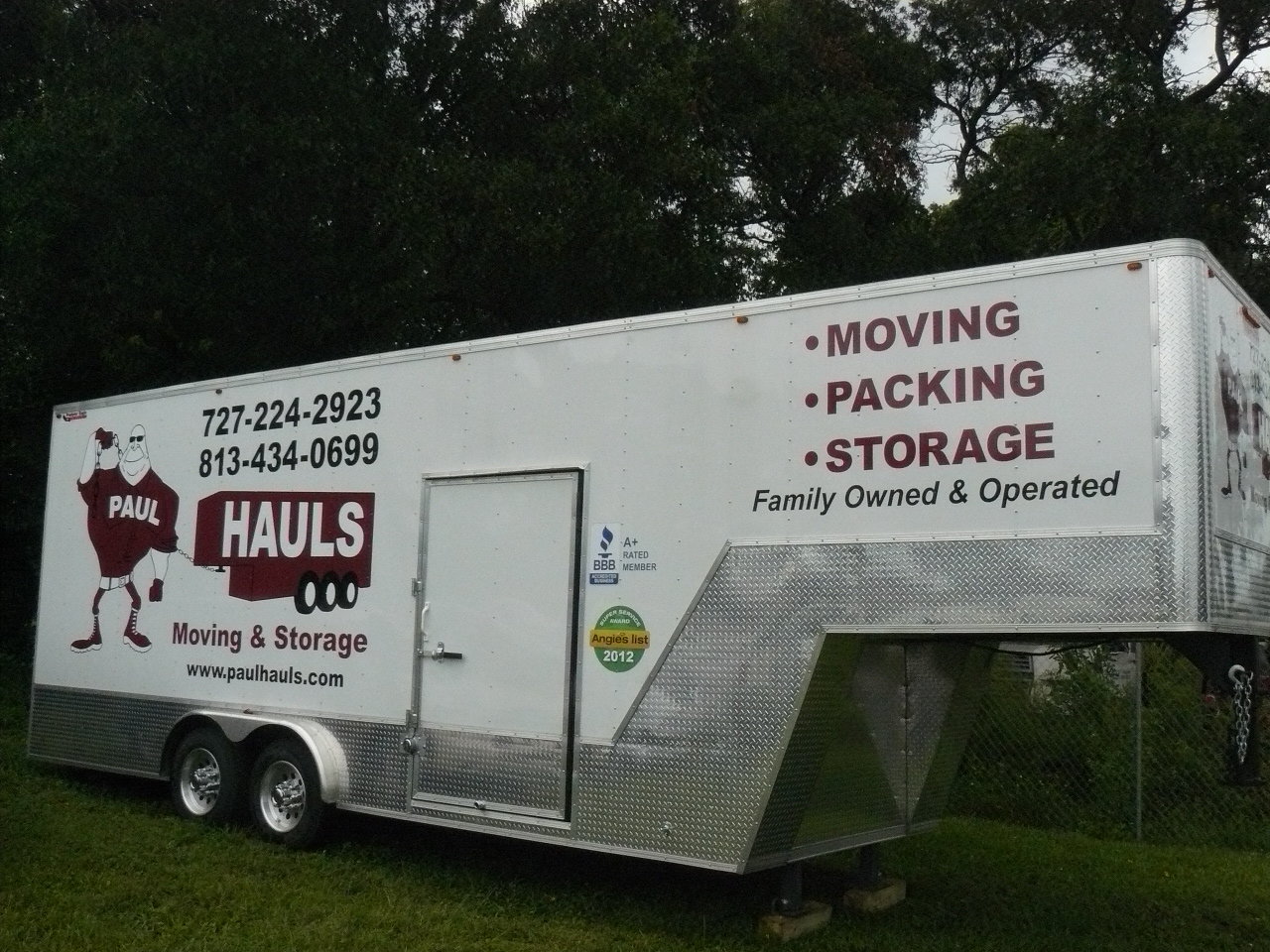 Moving Trucks Paul Hauls Moving Packing And Storage