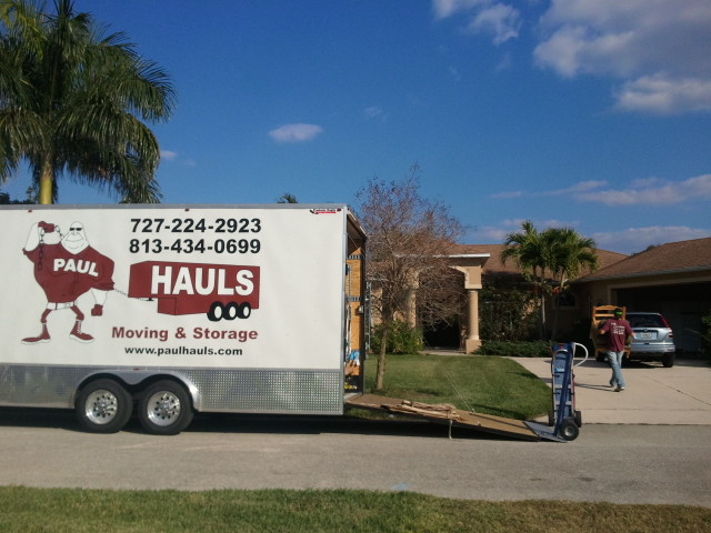 Florida Moving Company in Naples | Paul Hauls Moving And Storage