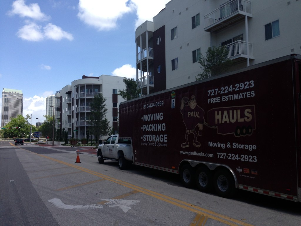 Tampa Moving Company In Channelside