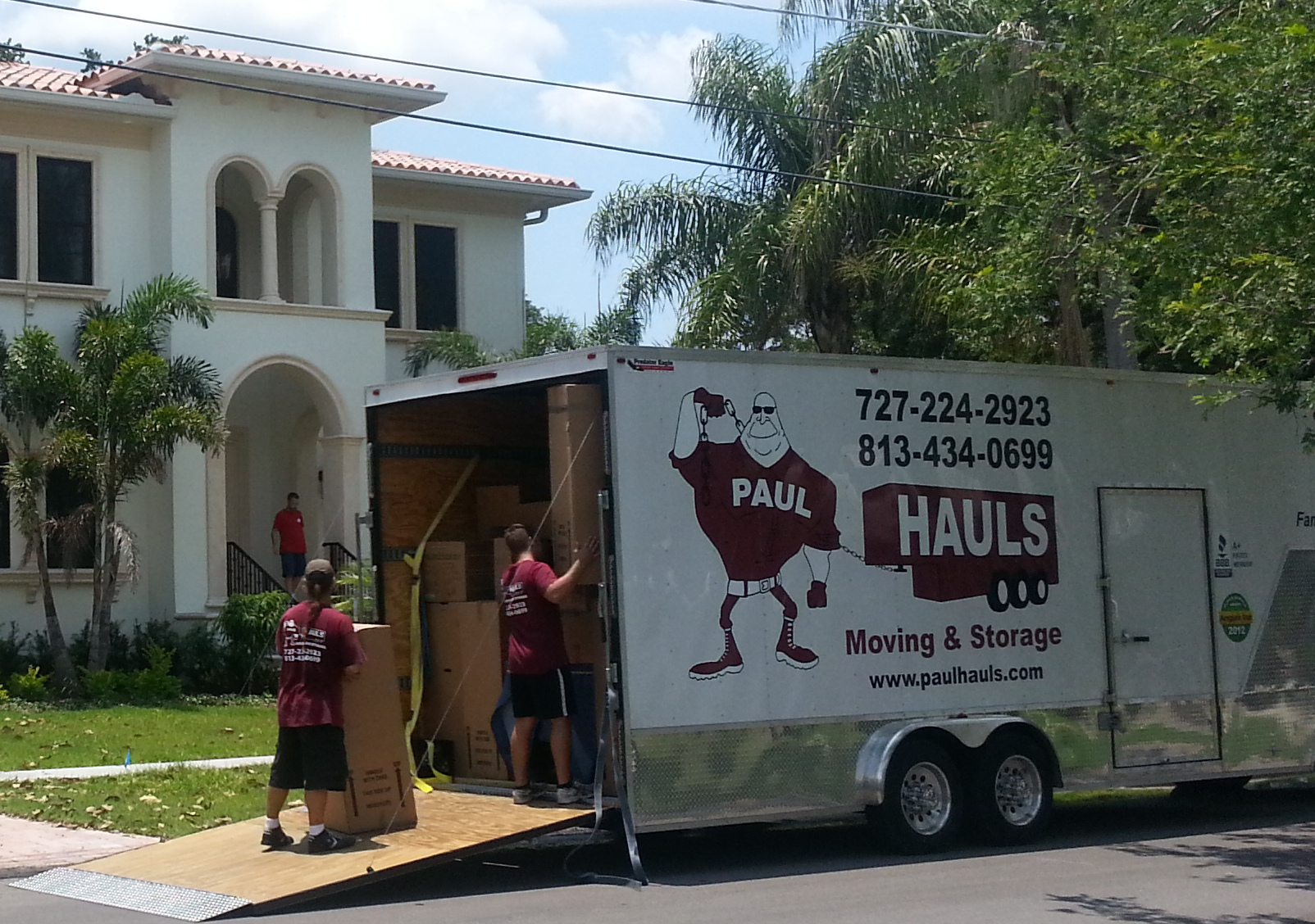 Charmant Paul Hauls Moving And Storage