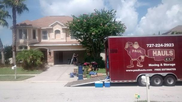Tarpon Springs Moving Day