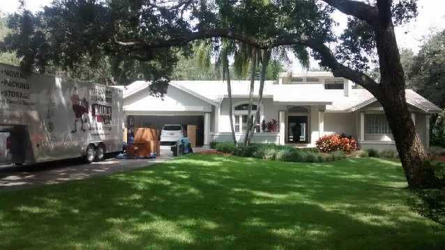 Moving Family In Largo, Florida.