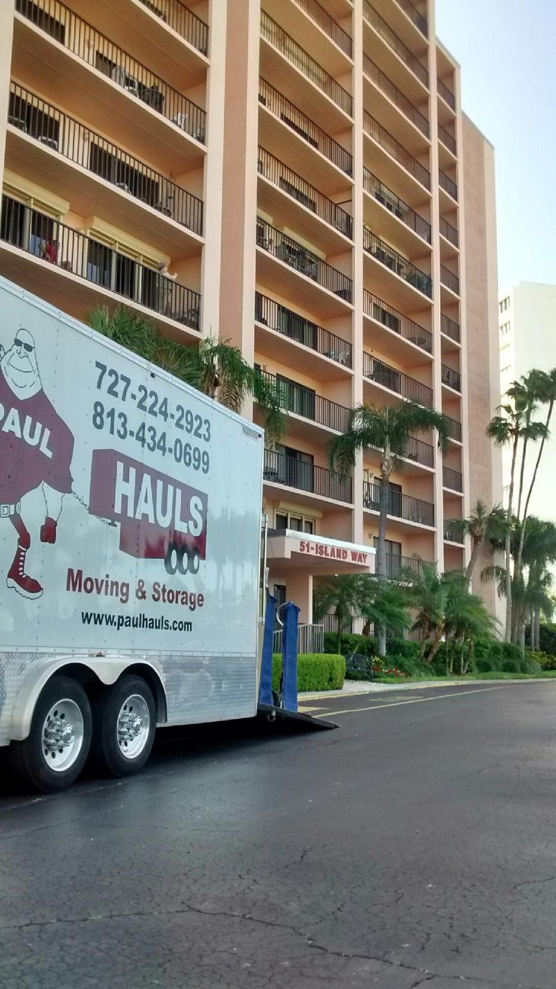 Moving Company In Clearwater Beach, Florida