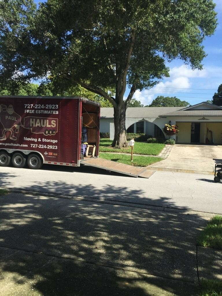 August Move in Palm Harbor