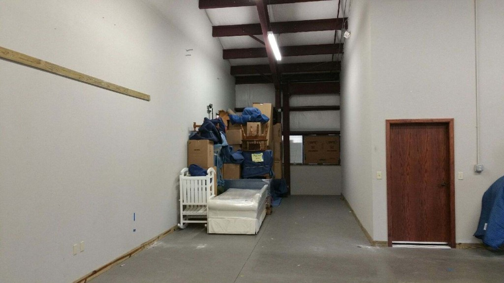 Air-conditioned storage facility in Tampa.