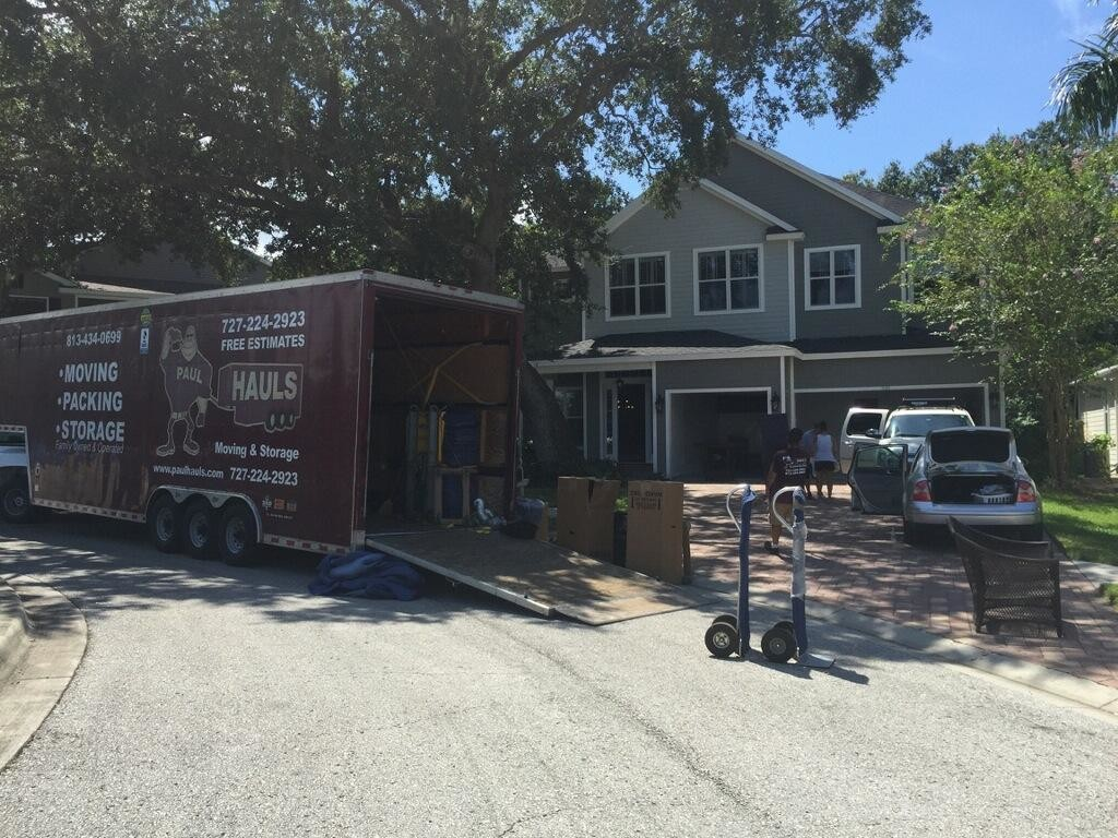 moving between odessa fl and new port richey fl