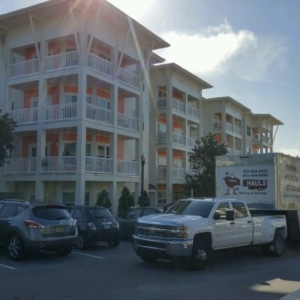 moving day in beautiful clearwater florida