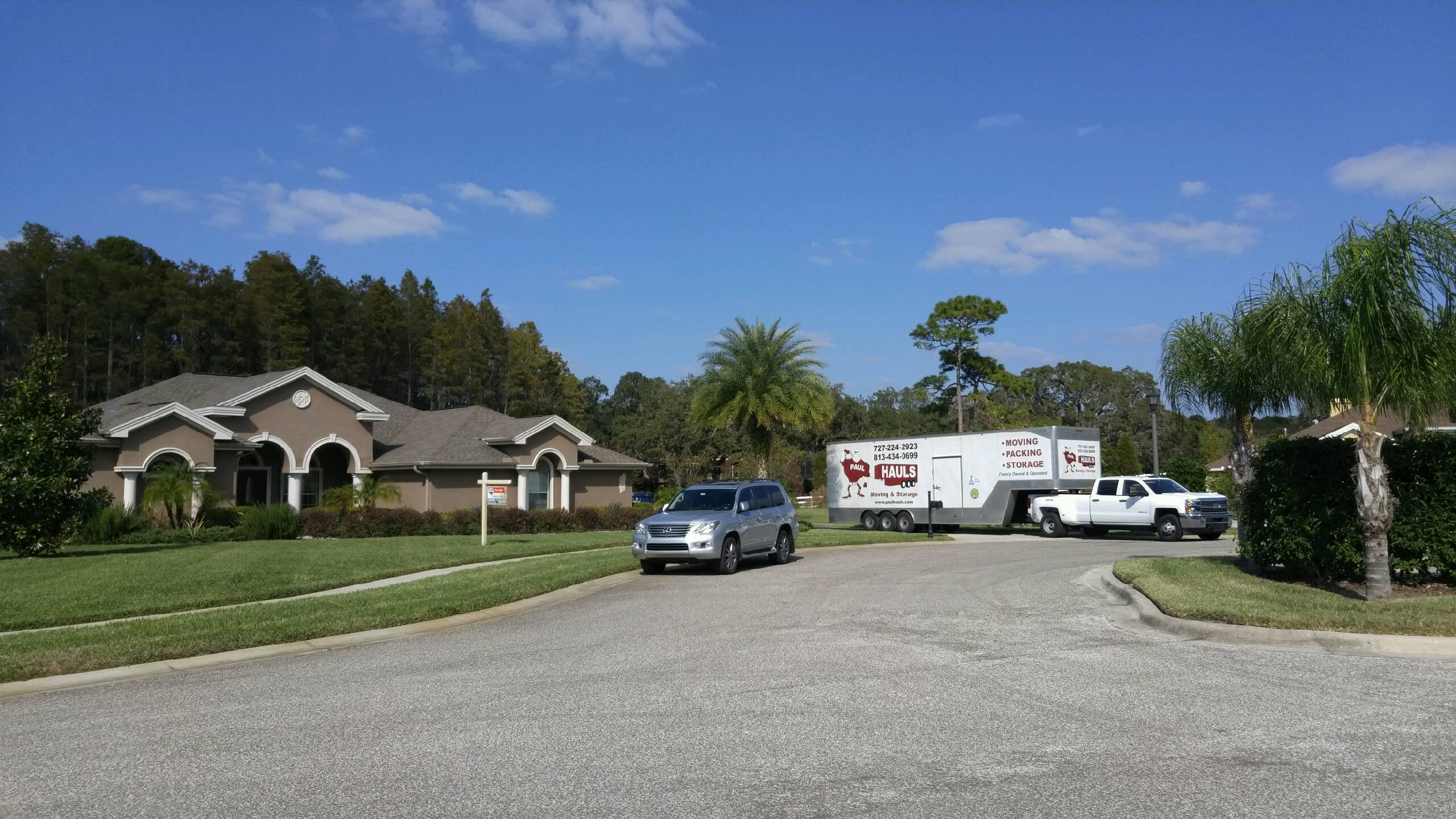 moving familiy in tarpon springs