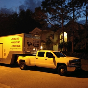 moving at dusk in palm harbor florida