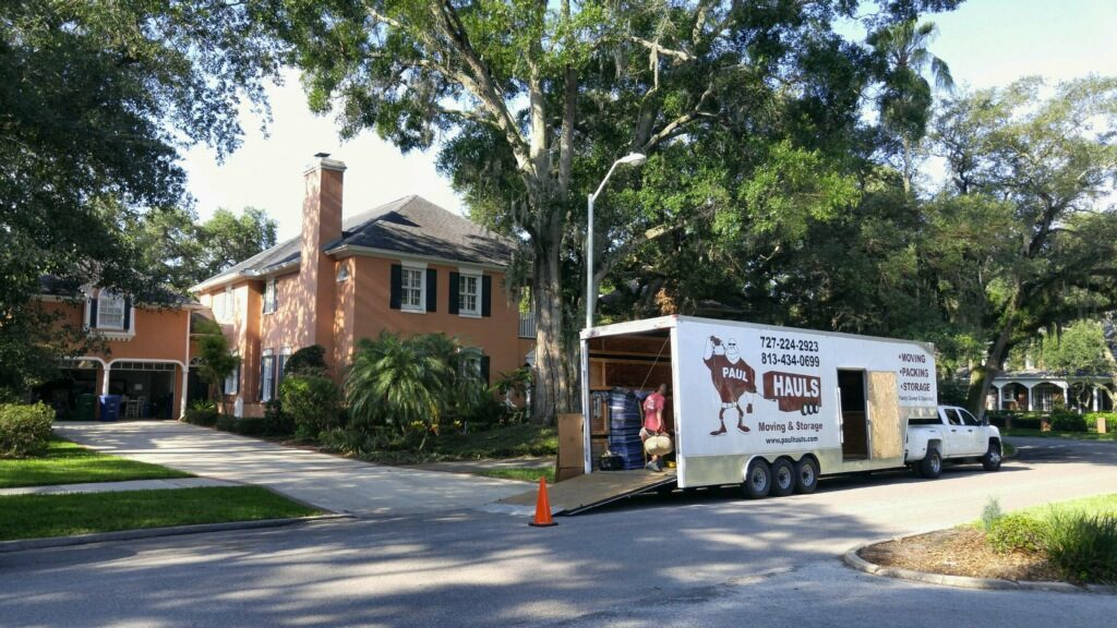 south tampa movers paul hauls moving packing and storage. Black Bedroom Furniture Sets. Home Design Ideas