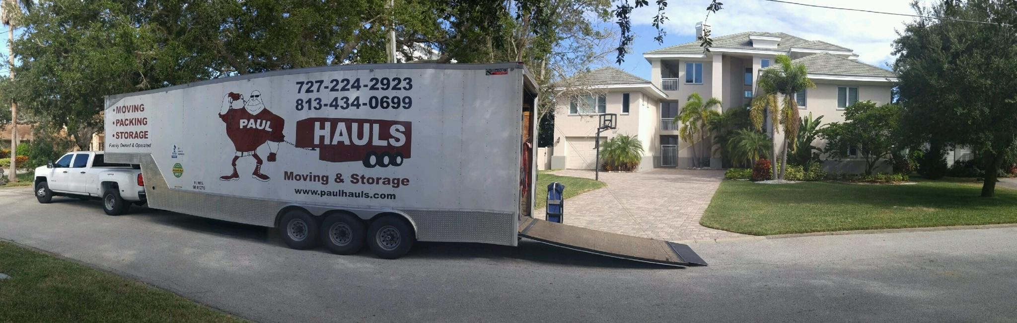 Movers In Palm Harbor, Florida