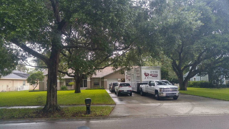 Odessa in Pasco County Florida - Moving Day